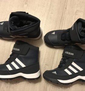 Детские зимние кроссовки сапоги ботинки