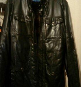Куртка кожа-зам