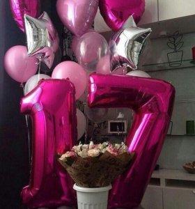 Воздушные Гелиевые шары!!! На любой праздник
