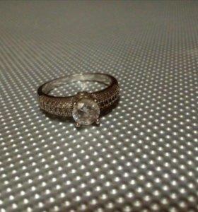 Серебряное кольцо 923пр