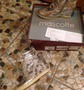 Демисезонные  ботинки Maskotte
