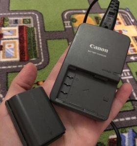 Батарея и зарядное устройство Canon 350D