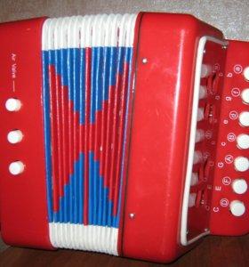 Гармошка музыкальная