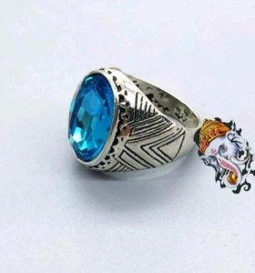 Кольцо Женское Мужское с камнем Перстень