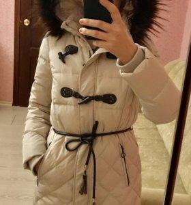 Куртка пальто синтепон-пух