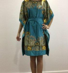 Новое домашнее платье-халат
