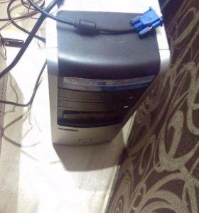 Компьютер для работы и учёбы. Два ядра, два гига.