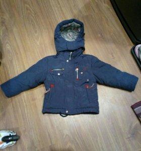 Куртка зимняя 92-104 рост.