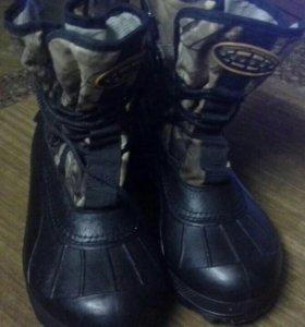 Рыбацкие зимние ботинки