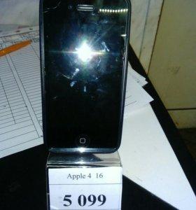 Телефон apple 4