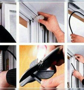Уплотнитель резиновый для Пластиковых Окон Дверей