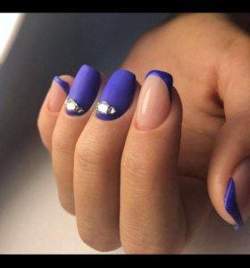 Маникюр/педикюр/укрепление ногтей/дизайн