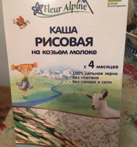 Каша рисовая на козьем молоке 400 грамм