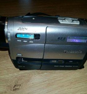 Камера кассетная Panasonic маленькие кассеты