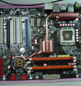 материнские платы 775 - DDR2/DDR3