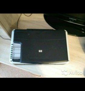 Цветной принтер 3 в 1 HP Deskjet F2180