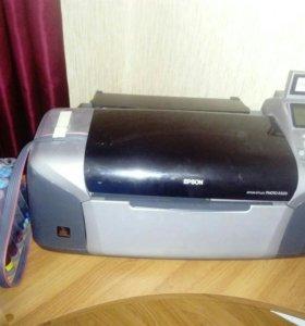 Цветной принтер Epson Stylus Photo R320🖨