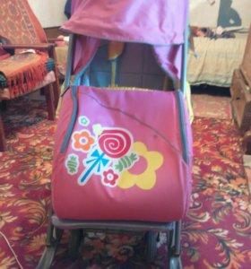 Санки коляска ника 7 детям