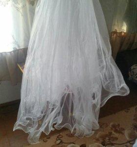 Свадебное платье ,перчатки, фота.