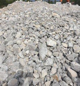 Щебень, песок, ПГС, Мрамор