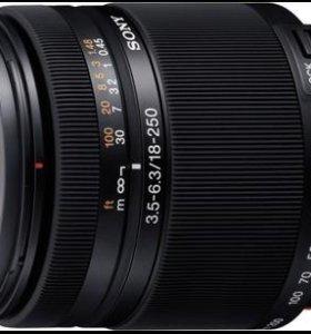 Объектив Sony (JAPAN)SAL18-250mm F3.5-6.3