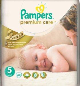 подгузники Pampers Premium Care 5 (11-18кг) 44шт