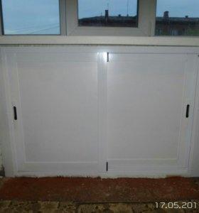 Шкафчик раскатной под окно.