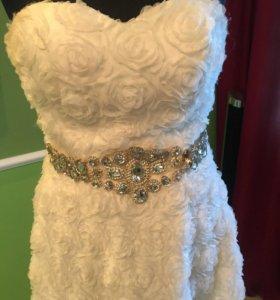 Платье свадебно(вечернее)