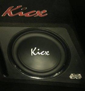 Сабвуфер Kicx 600 Watts