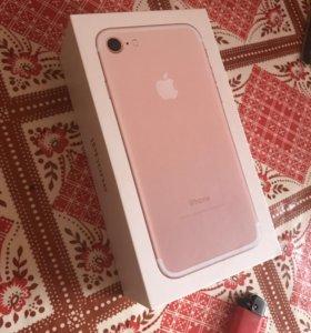 iPhone 7 , Rose Gold , 32 GB
