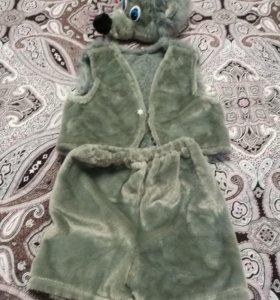Детский праздничный костюм Волка