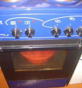 печь электрическая \лысьва\3комфорки с духовкой.