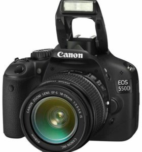 Canon eos 550d kit 18-55 is