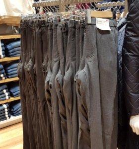 Япония. 52 р-р. Теплые не продуваемые брюки.