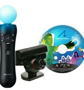 Набор PS3: Камера+Мув+Игра