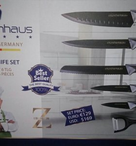 Набор из 6 ножей. Германия.