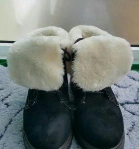 Ботинки зимние T.Taccardi 35-36 размер