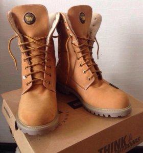 Обувь: ботинки Timberland  зимние