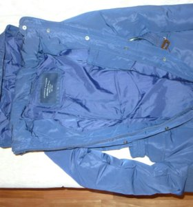 Tommy Hilfiger, оригинал, пальто пух зима