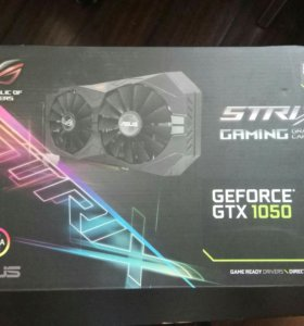 Видеокарта ASUS GeForce GTX 1050 STRIX