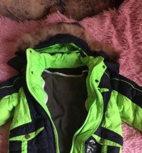 Куртка для мальчика на 3-4 года