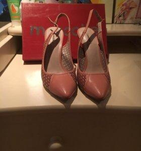 Кожаные туфли Маскот