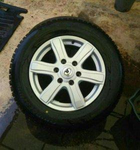 Колеса R17 зима новые +запаска