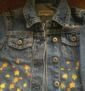 Джинсовая куртка 22 раз на 3 год