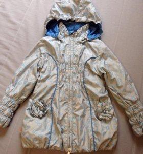 Куртка осенняя детская 110 см
