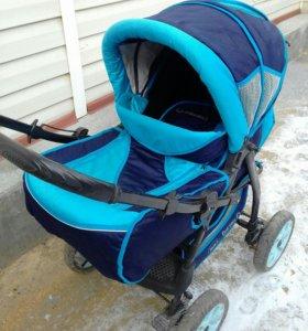 Зимнелетн детская коляска