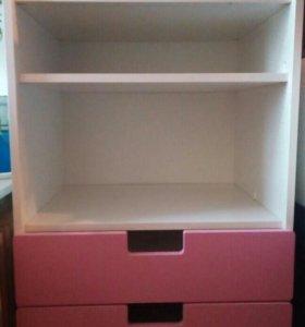 Ящик комод для девочки (икеа)
