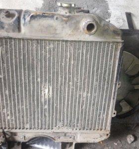 Продам радиатор газ 69