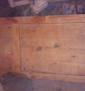 Дверь деревянная 2 шт,Торг