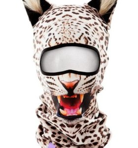 Балаклава дикие кошки маска подшлемник бандана баф